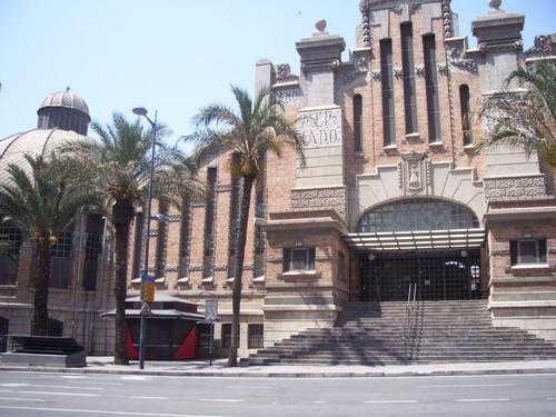 Another view of Alicante Central Market