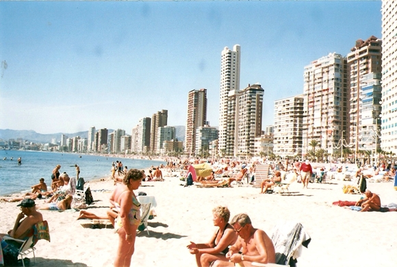 Benidorm in March