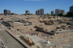 Another view of Lucentum Archeological Site